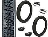 SET: 2 Reifen + Schläuche + Felgenband - VRM 416 - 2,75x16 für Simson S51 S50