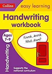 Handwriting Workbook Ages 7-9: Prepare for school with easy home learning (Collins Easy Learning KS2)
