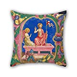 Christmas Pillowcase Of Oil Painting Domenico Pagliarolo - Resurrection, In An Initial A For Play Room Couch Boy Friend Outdoor Him Monther 18 X 18 Inches / 45 By 45 Cm(2 Sides)