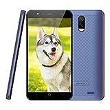4G Smartphone ohne Vertrag Leagoo Z7 Handy Mobiltelefon 3000mAh Akku Günstiges Telefon 5,0 Zoll FWVGA Display Dreifachkameras Flash LED Android 7.0, RAM 1GB+ ROM 8GB 32GB Erweiterbar in Angebote (Blau)
