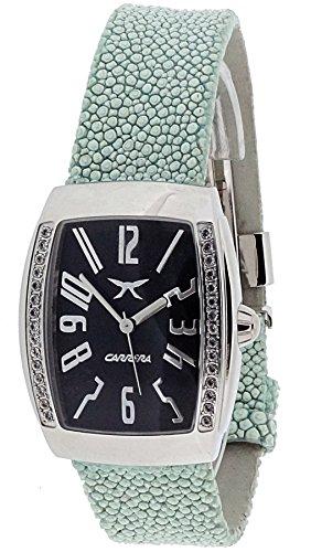 Carrera Damen Analog Quarz Uhr mit Leder Armband cw58612103011