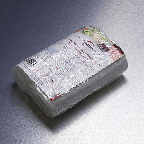 Wimex sacchetti sottovuoto per alimenti. 2 rotoli 15x600 cm