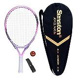 Senston Kinder Tennisschläger Junior Tennis Schläger Set mit...
