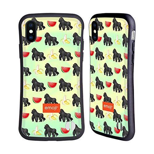 Ufficiale Emoji Gatto Animali Case Ibrida per Apple iPhone 7 / iPhone 8 Gorilla