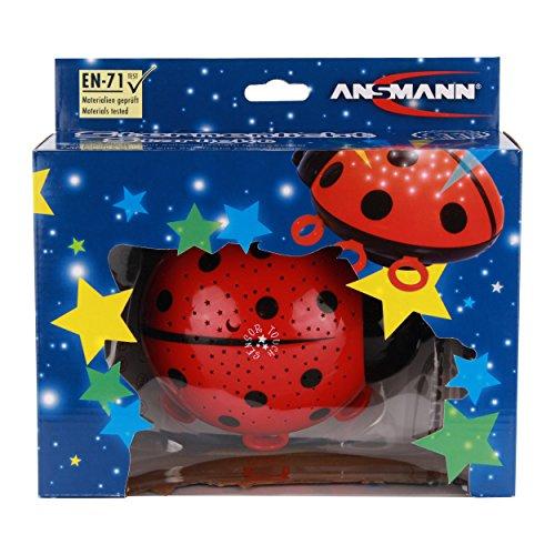 ANSMANN Sternenlicht Marienkäfer LED Sternenhimmel-Projektor Nachtlicht Lampe Einschlafhilfe für Baby/Kinder/Erwachsene – Testsieger (Vergleich.org 03/2017) - 10