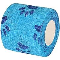 Set von 2 First Aid Bandage Printing Selbstklebende Elastizität Bandage-Blue preisvergleich bei billige-tabletten.eu