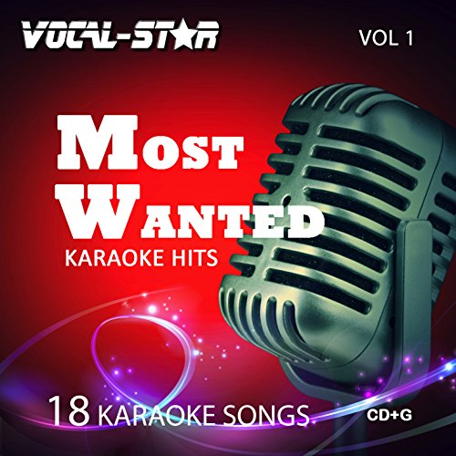 Price comparison product image Vocal-Star Most Wanted Vol 1 Karaoke CDG CD+G Disc Set - 18 Songs Including Adele Abba Coldplay Ed Sheeran Katy Perry Little Mix Madonna U2 Prince
