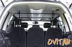 Ovitan Hundegitter Xl Fürs Auto Universal Zur Befestigung An Den Kopfstützen Der Rücksitzbank Für Alle Automarken Geeignet Xl H04xl 4 Streben Haustier