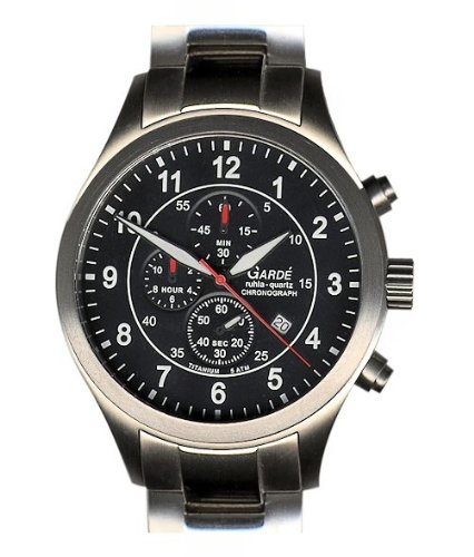 Ruhla 11841–Armbanduhr Herren, Armband aus Titan