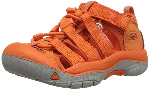 Keen Unisex-Kinder Newport H2 Sandalen Trekking-& Wanderschuhe, Orange (Golden Poppy Golden Poppy), 30 EU (Kids Orange Schuhe)