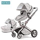 Hot Mom 2017 Edición Limitada Cochecito Sillas de paseo, Asiento para bebé vendido por separado