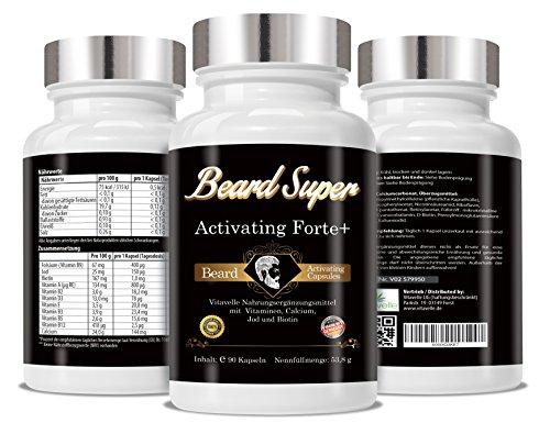 Beard-Super-Activating-Forte-90-Capsules-Cellulose-Capsules-Beard-Growth-Agents-I-Hair-Growth-Agents-I-More-Beard-Growth-I-Beard-Growth-Increase-I-Hair-Booster-Hair-boosters-Beard-Booster