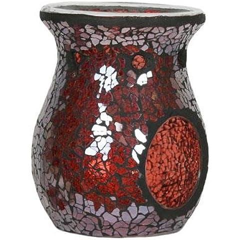 Rosso Lustre Village Candle Yankee Candle/Bruciatore di