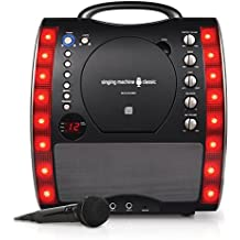 Singing Machine SML343BK Impianto per Karaoke, (Mixer Sound System)
