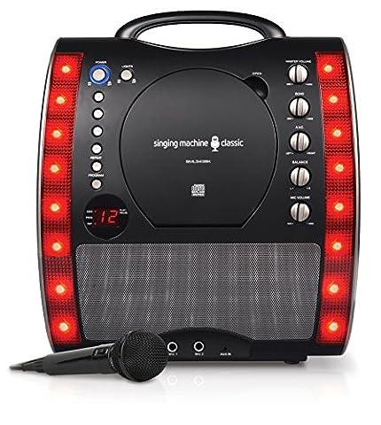 Singing Machine sml343installation pour karaoké (Mixer Sound System)