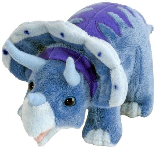 Preisvergleich Produktbild Wild Republic 15502 - Dinomites Plüsch Triceratops, 25 cm