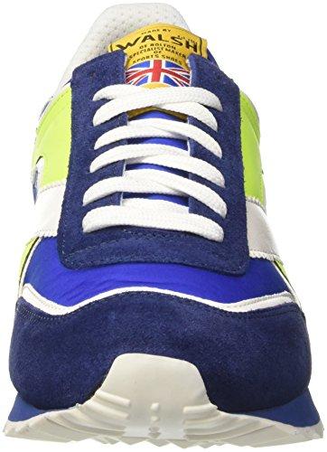 Walsh Sport Style, Scarpe da Basket Uomo Multicolore (Navy/Royal Blue/Fluo)