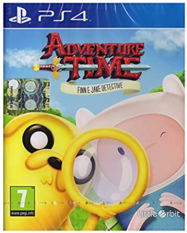 Namco Bandai Games Adventure Time: Finn and Jake Investigations, PS4 - video games (PS4, PlayStation 4, Action / Adventure, Vicious Cycle Software, Inc., Basic, Little