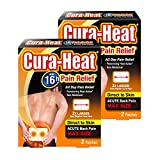 Cura Heat Max Direct to Skin (2 Patches x 2 Packs)