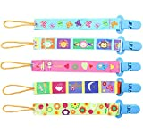 5pcs Goldore Baby universal Chupete Clips para niños - Best Reviews Guide