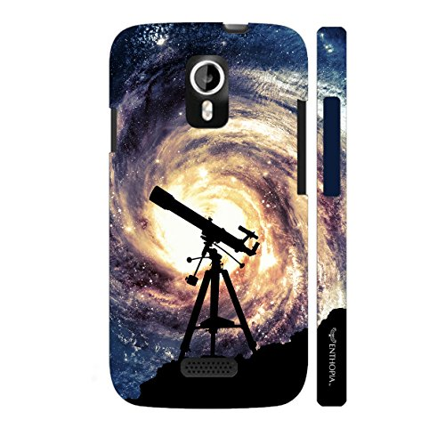 Enthopia Designer Hardshell Case Space Gaze Back Cover for Micromax A116 Canvas HD  available at amazon for Rs.95