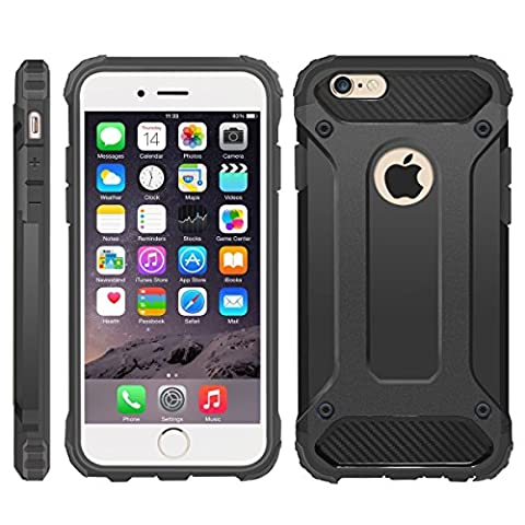 Apple iPhone 5s SE 5 Shock Proof Case / Dual Layer Hybrid Design with Screen Protector Cover / Rugged Defender Heavy Duty / iCHOOSE /