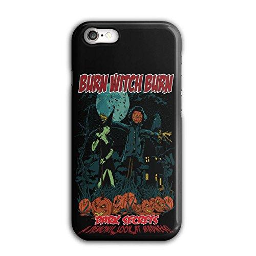 Brennen Hexe Sexy Halloween Dunkel Geheimnis iPhone 8 Hülle | (Kostüm Ideen Für Für Halloween Die Arbeit)