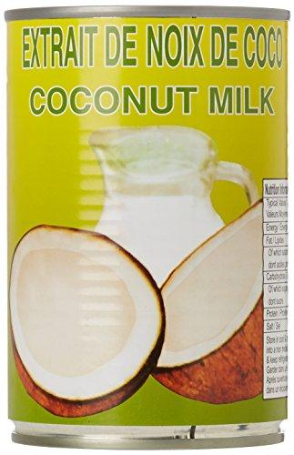 Eaglobe Extrait de Noix de Coco - Lait de Coco 400 ml