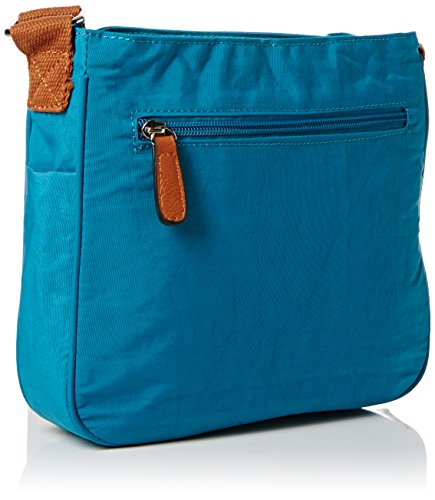 SwankySwans - Emmy, Borsa a tracolla Donna Verde (Green (Teal))