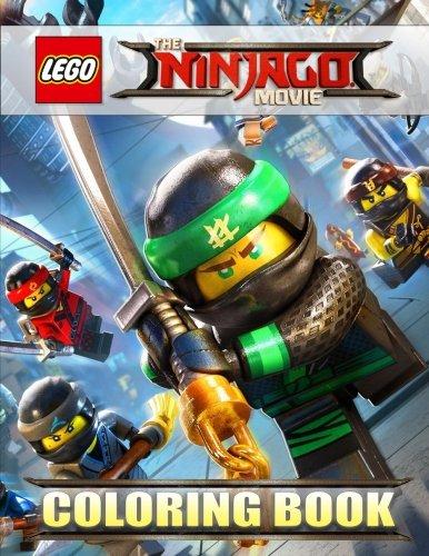 Preisvergleich Produktbild The LEGO NINJAGO Movie: Coloring Book for Kids,  Activity Book (Exclusive high-quality Illustrations 2017)