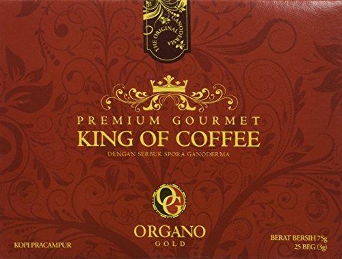 Rey orgánico del café orgánico de Organo Gold (Mejorado con hongo de Ganoderma lucidum)
