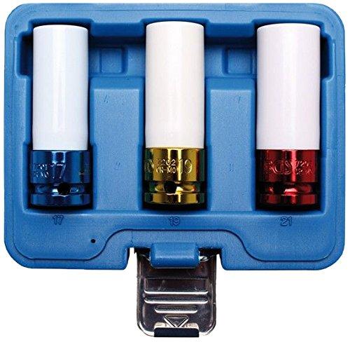 Bgs Force de schonei nsätze, 17–19–21mm, 12,5(1/2), 3pièces, 1pièce, 7200