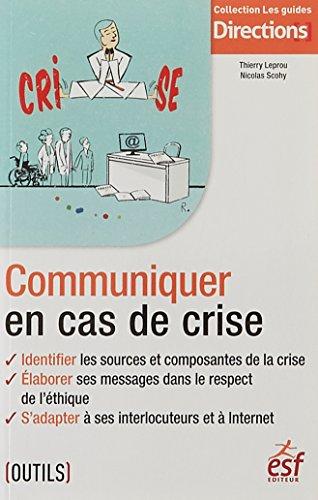 Communiquer en cas de crise