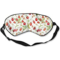 Strawberry Seamless Watercolor Illustration Sleep Eyes Masks - Comfortable Sleeping Mask Eye Cover For Travelling... preisvergleich bei billige-tabletten.eu