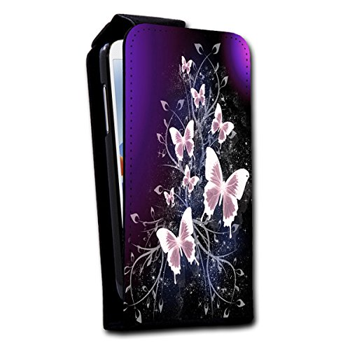 """Verticale à rabat style étui de protection à rabat motifs photo pour apple iPhone 6 """"sélection v4 le choix du design;, Design 2 (Turquoise) - SB-Vertikal V4 Design 12"""