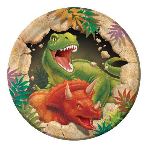 Creative Converting–Dino Explosión platos de postre