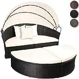 Miadomodo - Conjunto de sillones para jardín - anchura total, ...