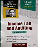Income Tax and Auditing Paper-IX B.com 2nd year SOL Shiv Das & Sons For 2020 Exam DU