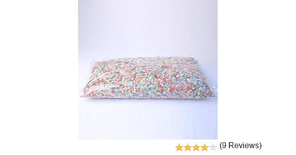 1 Kg Taille Unique Aptaf/êtes Sachet de Confettis Multicolores