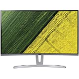 Acer 27-inch Full HD Curved LED Monitor with VA Panel, 250 Nits, 75 Hz, HDMI, VGA Ports, 3W x 2 Stereo Speakers - ED273 (White)