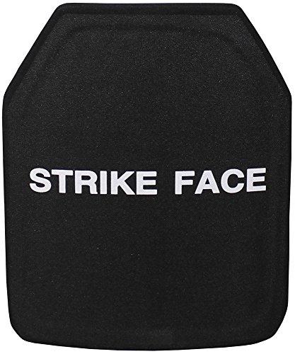 Keramik-Platte NIJ Level III Schwere Schutzplatte für Schutzweste Vorne oder Hinten Stand Alone SWAT KSK Security Polizei (Vorne)