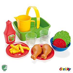 Andreu Toys Andreu Toys014680 Dantoy - Juego de Juguetes para Picnic y Ensalada