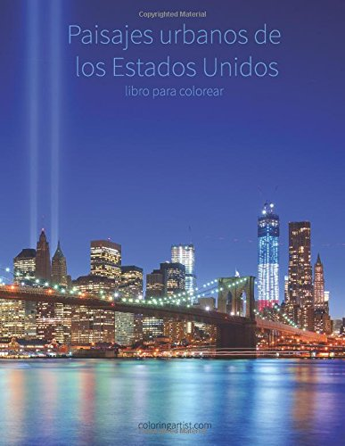Descargar Libro Paisajes urbanos de los Estados Unidos libro para colorear 1: Volume 1 de Nick Snels