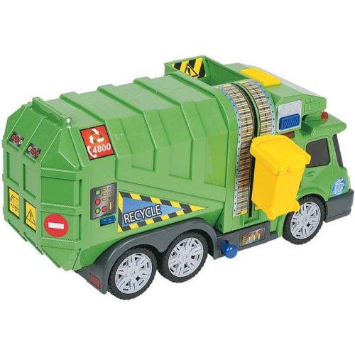 Simba - A1102324 - Véhicule Miniature et Circuit - Camion Poubelle
