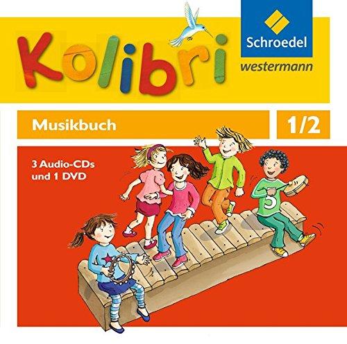 Preisvergleich Produktbild Kolibri - Musikbücher / Kolibri - Musikbücher: Allgemeine Ausgabe 2012: Allgemeine Ausgabe 2012 / Hörbeispiele und Tanz-DVD 1 / 2