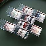 Vidillo Washi Tape Set, 40 Rollen dekorativer Klebstoff Washi Masking Tape Sticker im...