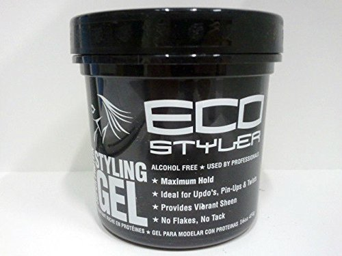 Super Hold Styling Gel (Eco Styler Styling Gel Super Protein - Maximum Hold 16oz - 473ml)