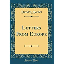 Letters From Europe (Classic Reprint)