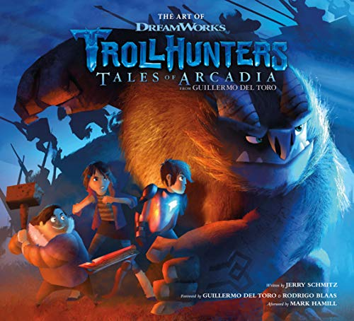 The Art of Trollhunters por Dreamworks