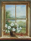 Artland Qualitätsbilder I Fine-Art Kunstdruck Wandbild Gemälde auf Holz - Größe 57 x 79 cm - Stillleben Arrangements Braun A6CP